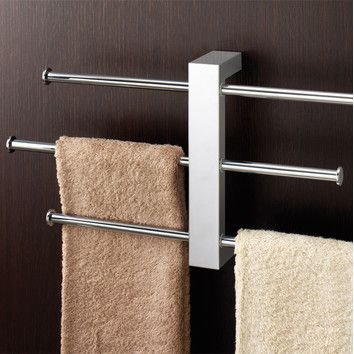 Bridge Sliding 3 Tier Wall Mounted Towel Rack Towel Rack Bathroom Nameeks Towel Rack