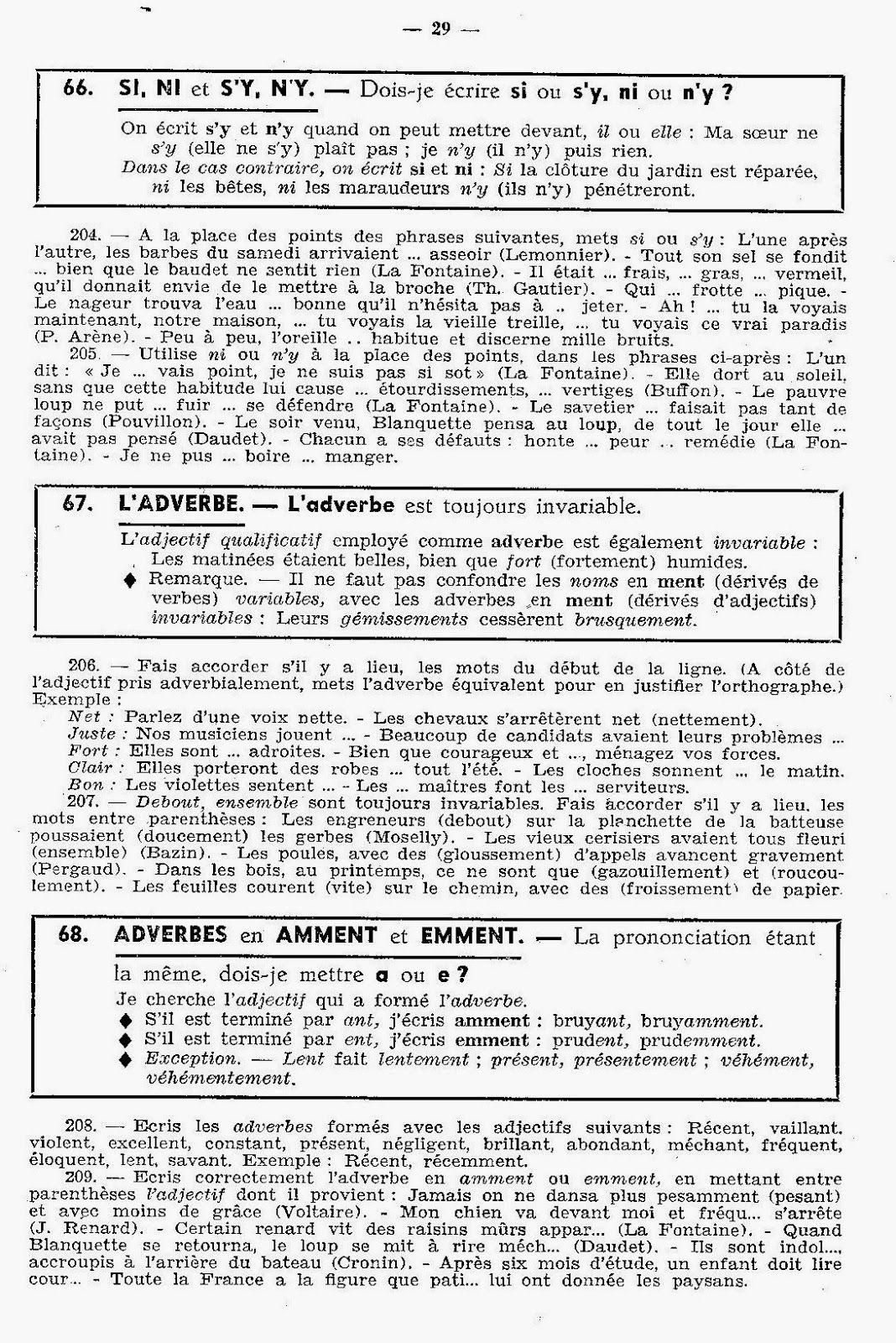 J. L'Orthographe naturelle Exemple cv, Idée