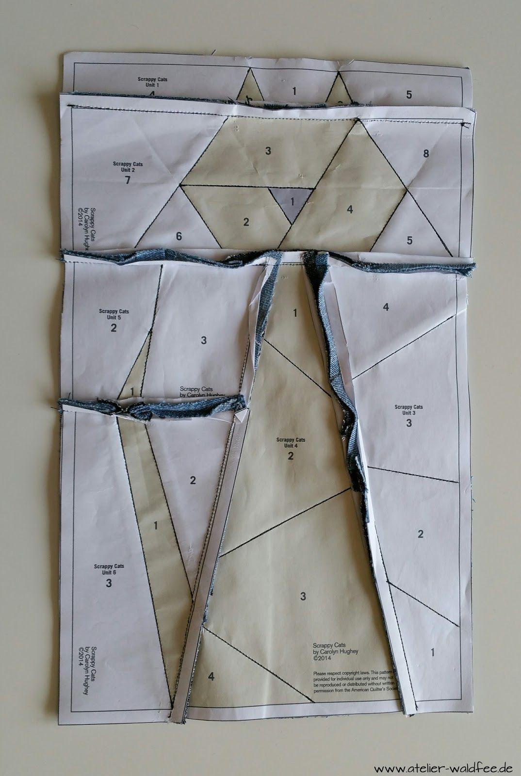 Foundation Paper Piecing | Pinterest | Patchwork und Quilten ...