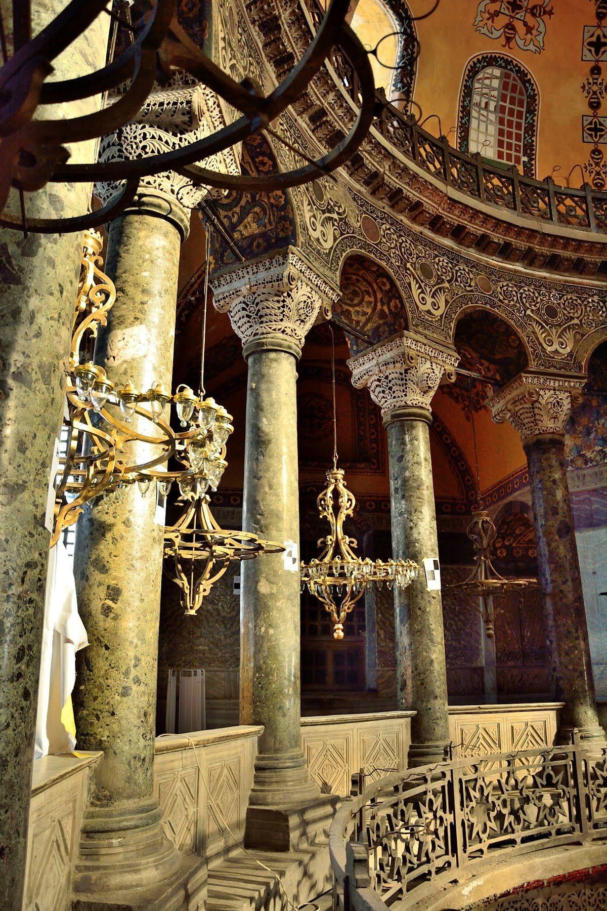 Columns Of Hagia Sophia With Images Hagia Sophia Byzantine