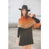 Sunset Shawl Crochet Pattern   InterweaveStore.com, pattern for purchase