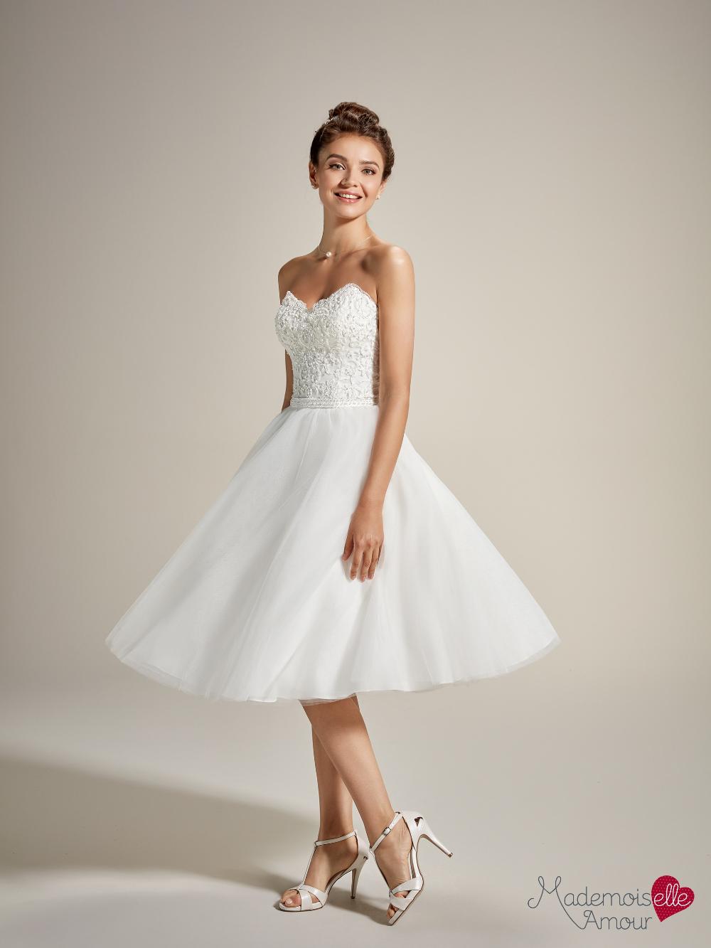 Mademoiselle Naia - robe de mariée courte