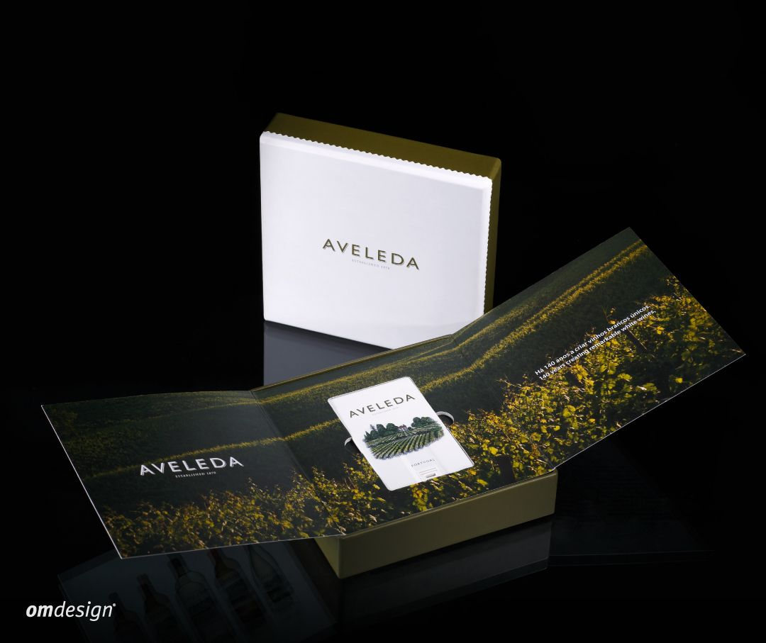Press Kit Aveleda (2014) #Omdesign #Design #Portugal #LeçadaPalmeira #Since1998 #AwardedAgency #DesignAwards #PressKit #Aveleda #Vinhos #Wines #VinhoVerde #CVRVV #PortugueseWines #WinesofPortugal #WineLovers #WineDesign