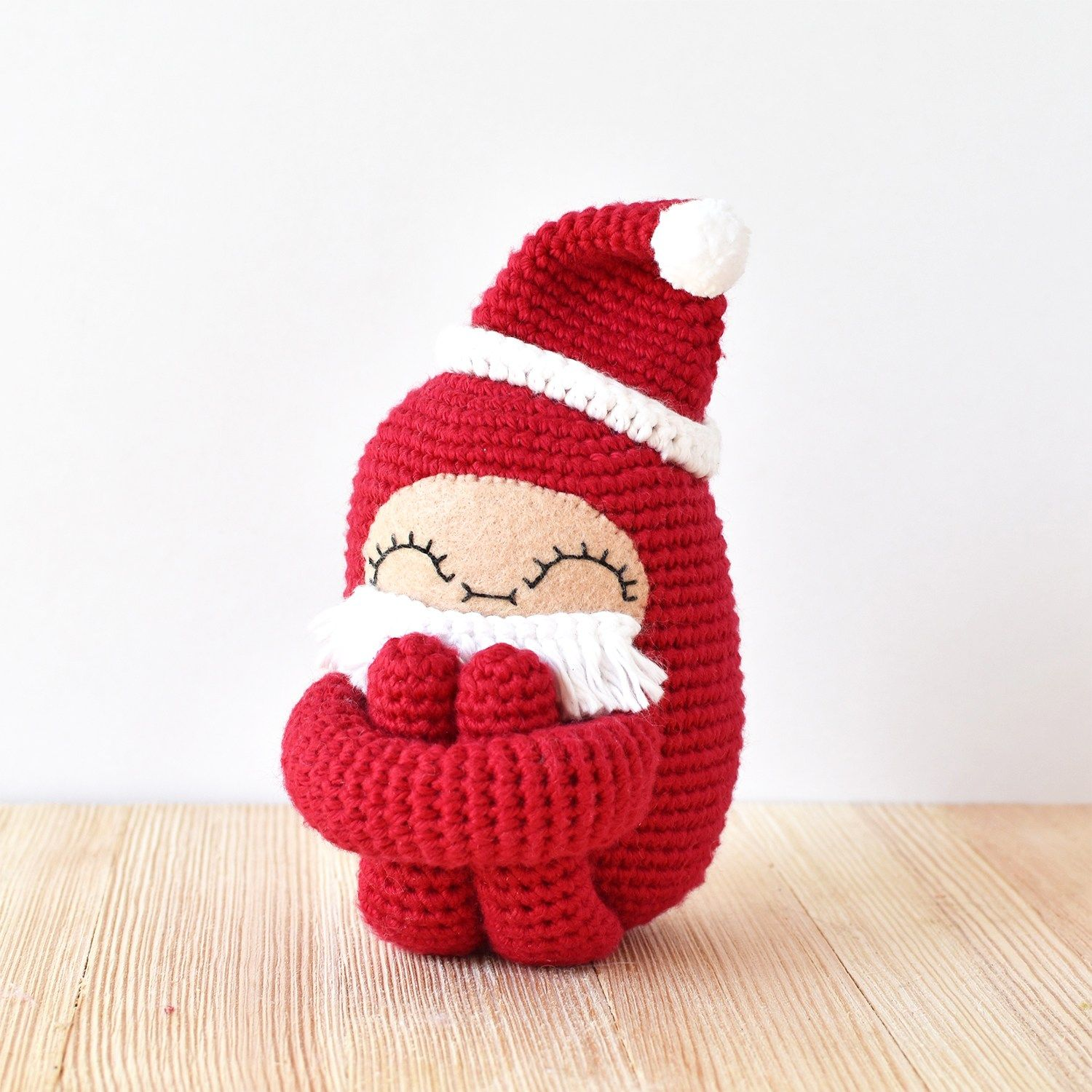Santa Curlie Add On Pattern