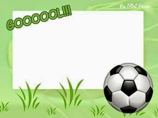 Bildergebnis Für Plantillas Para Carteles De Futbol Para