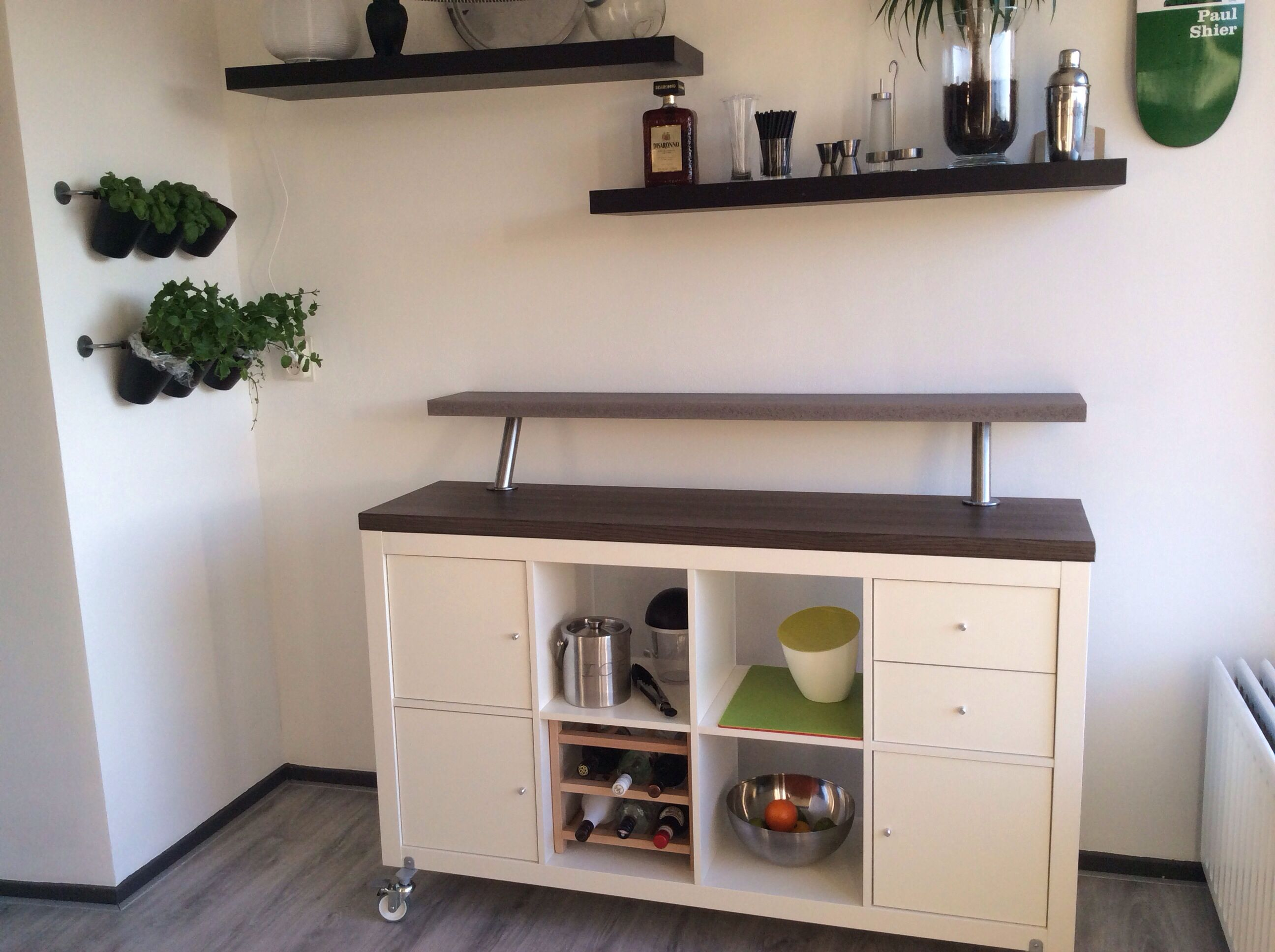 Wohnzimmer Bar Ikea Home Bar Inspired By Ikea Expedit Series Diy Love This I Need