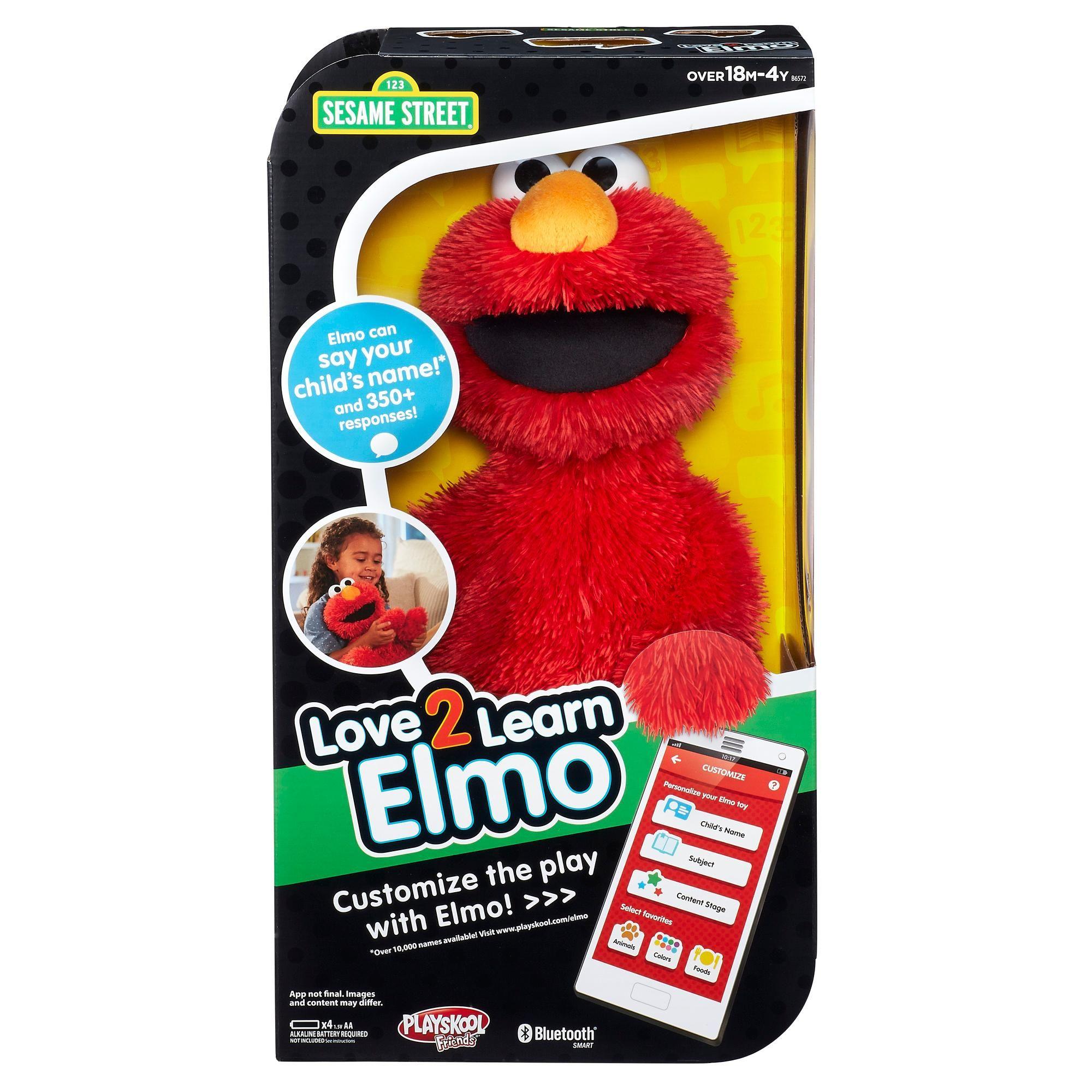 Amazon Com Playskool Sesame Street Love2learn Elmo Toys