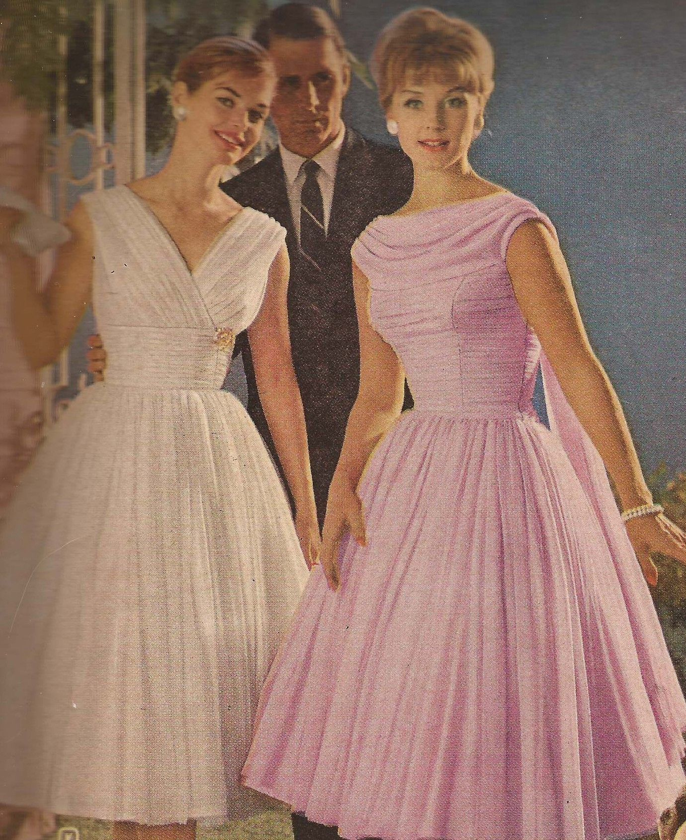 1960 Party Dresses Vintage Fashion Pinterest 1940s Dior And 1960s Clothing