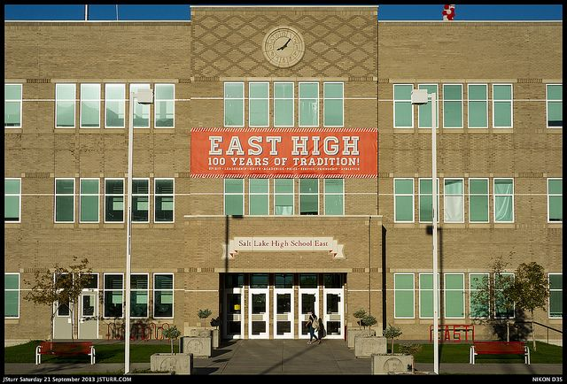 East High - Salt Lake City  Another from the same series