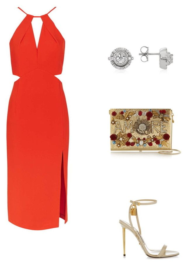 """Untitled #11917"" by danisalalkamis ❤ liked on Polyvore featuring Topshop, Forzieri, Dolce&Gabbana and Tom Ford"