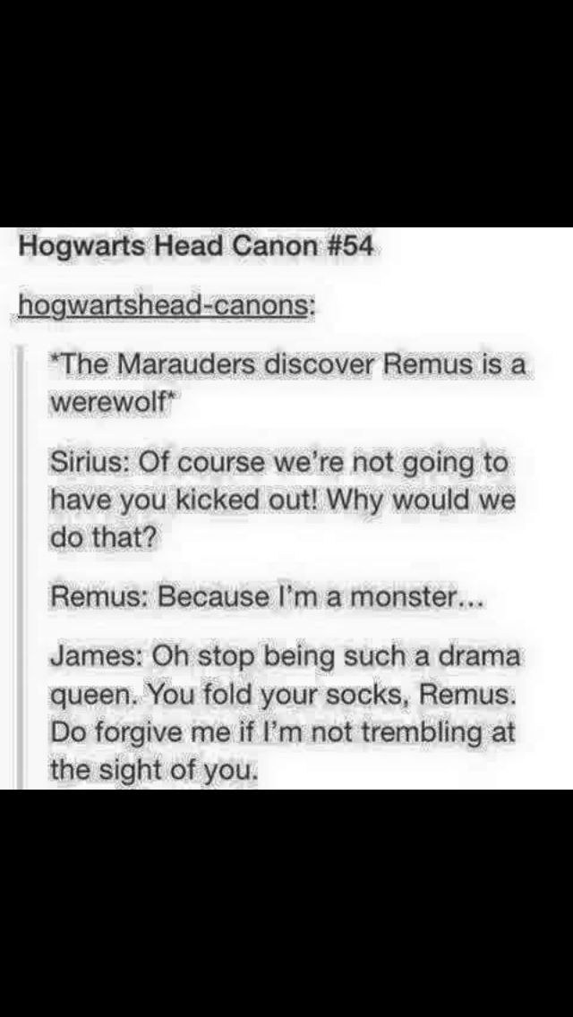 The Marauders Find Out Remus is a Werewolf | Harry Potter