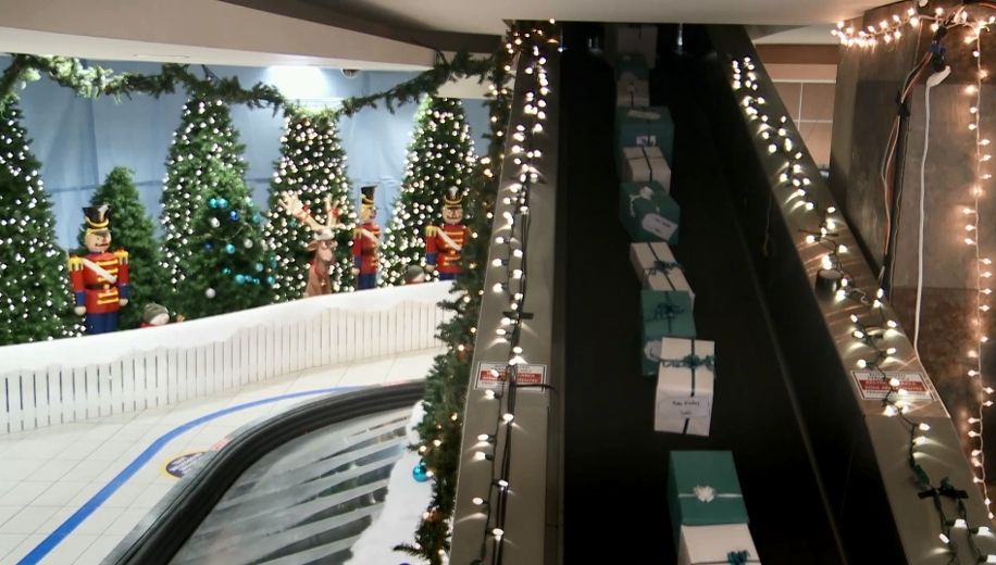 Calgarybased westjet makes passengers christmas wishes