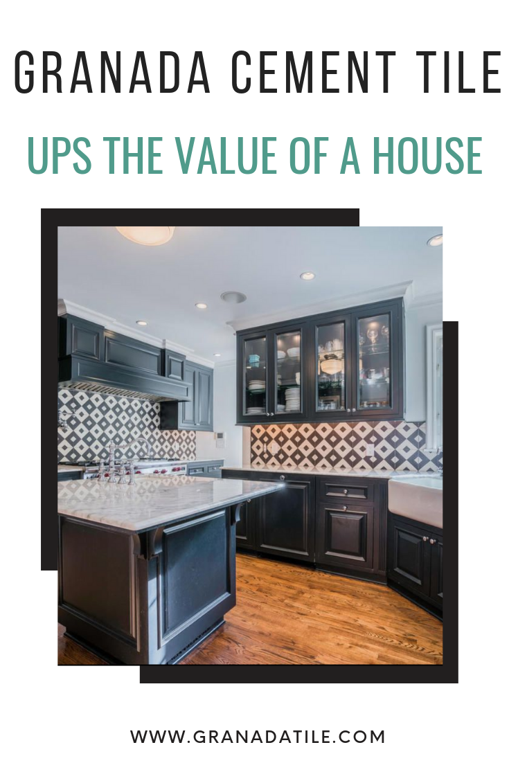 - In Fact, Adding A Cement Tile Backsplash Is One Of The Most