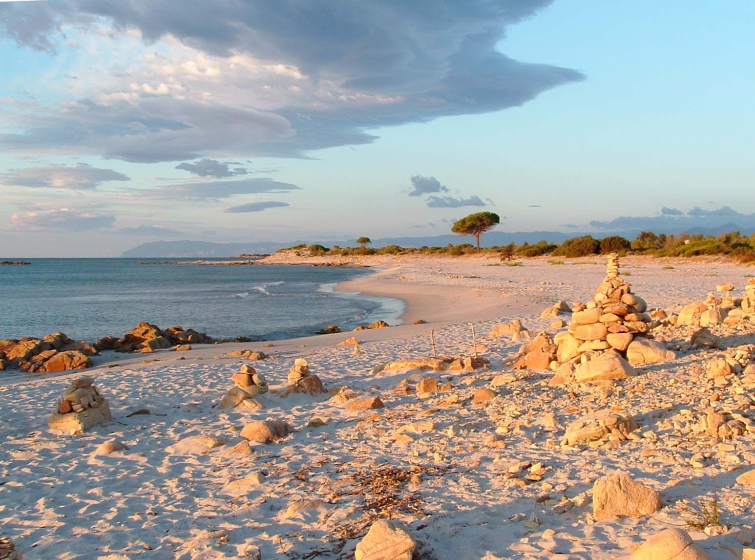Orosei. Spiaggia di Biderrosa.