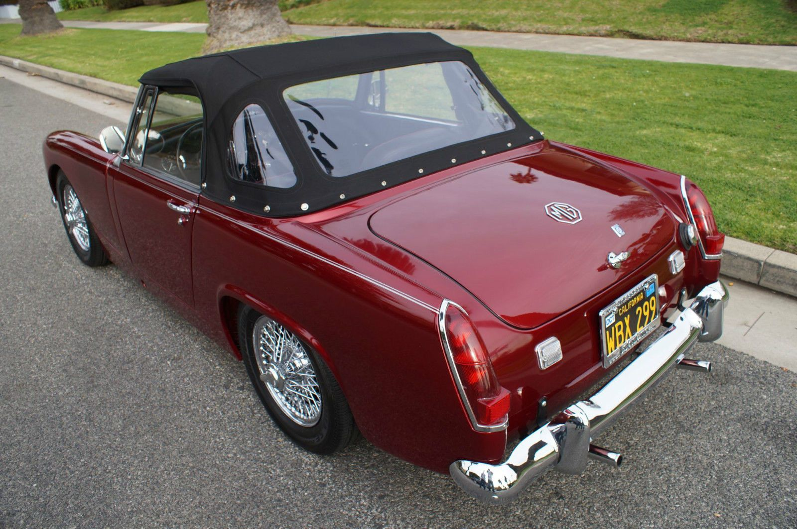 67 mg midget recently restored midget mark iii 1275 roadster ebay