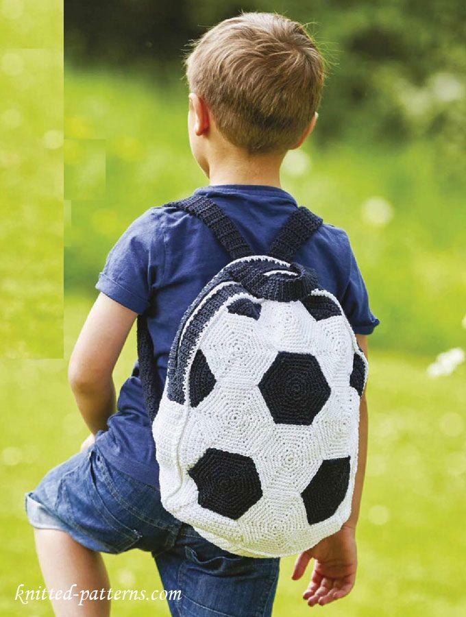 Crochet Kids Backpack Pattern Free Free Knitting Patterns In 2018