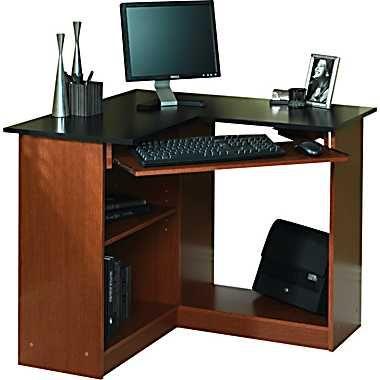 Staples Corner Computer Desk Corner Computer Desk Basement