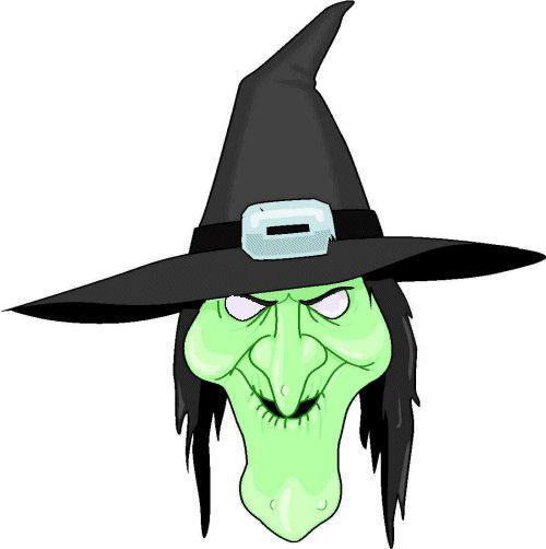 masque de sorcière prêt à imprimer - votre image id-3 sur ungava