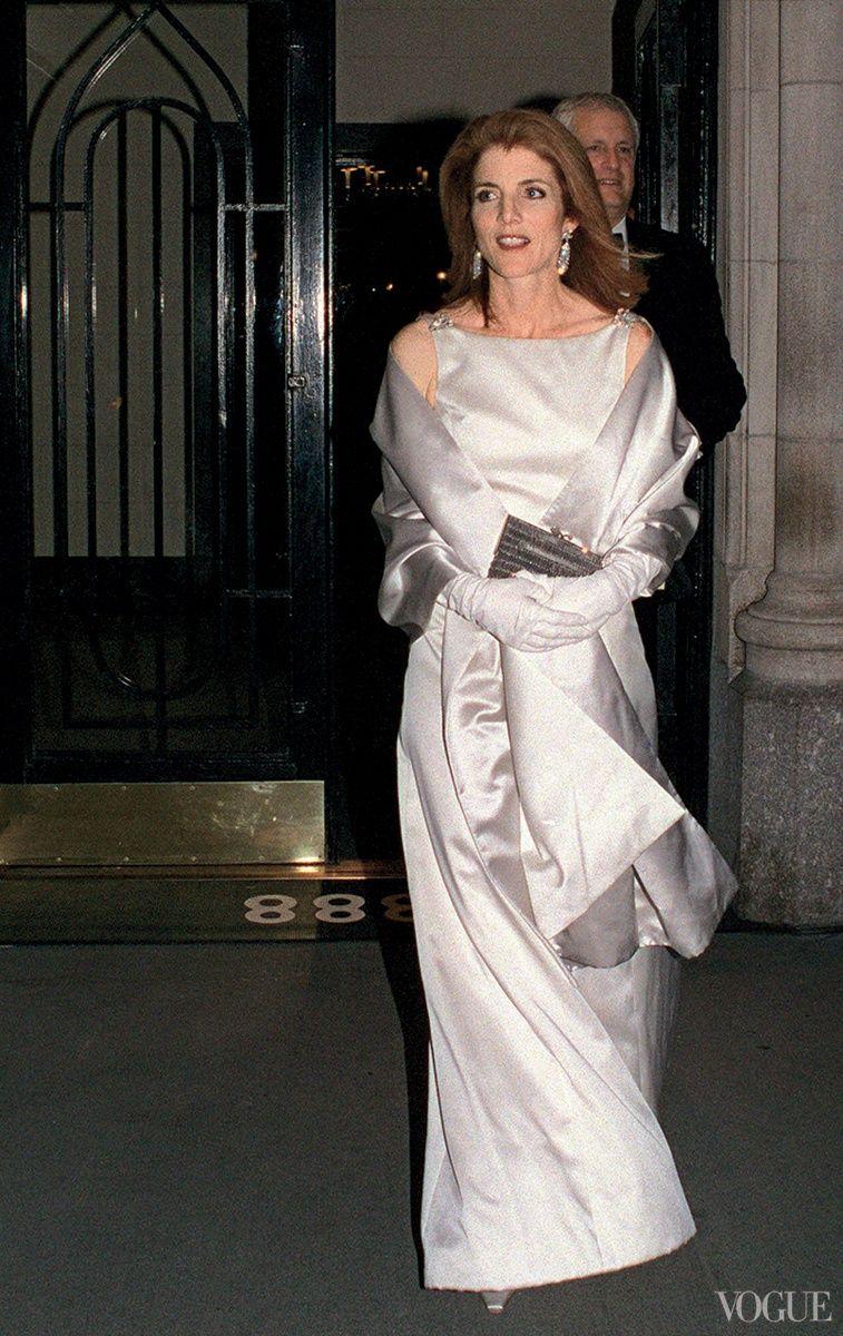 Vogue daily caroline kennedy 2001 mis cosas for Tatiana schlossberg wedding dress