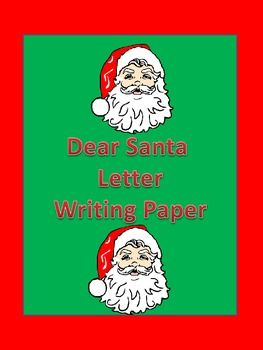 Dear Santa Friendly Letter Christmas Writing Sheet Free Christmas Writing Friendly Letter Writing Santa Letter Writing