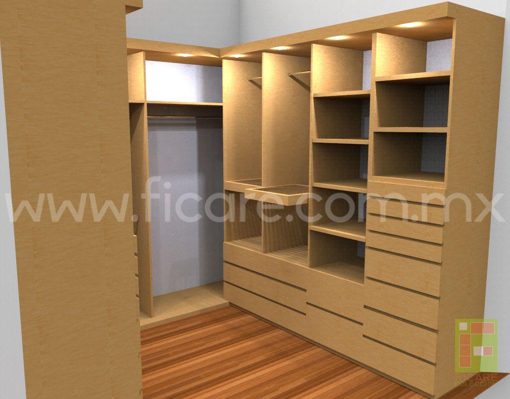 Closet Modelo MM3  www.ficare.com.mx
