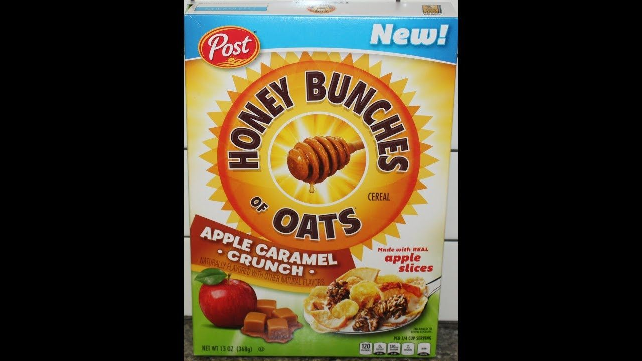 Honey Bunches Of Oats Apple Caramel Crunch Cereal Review Caramel