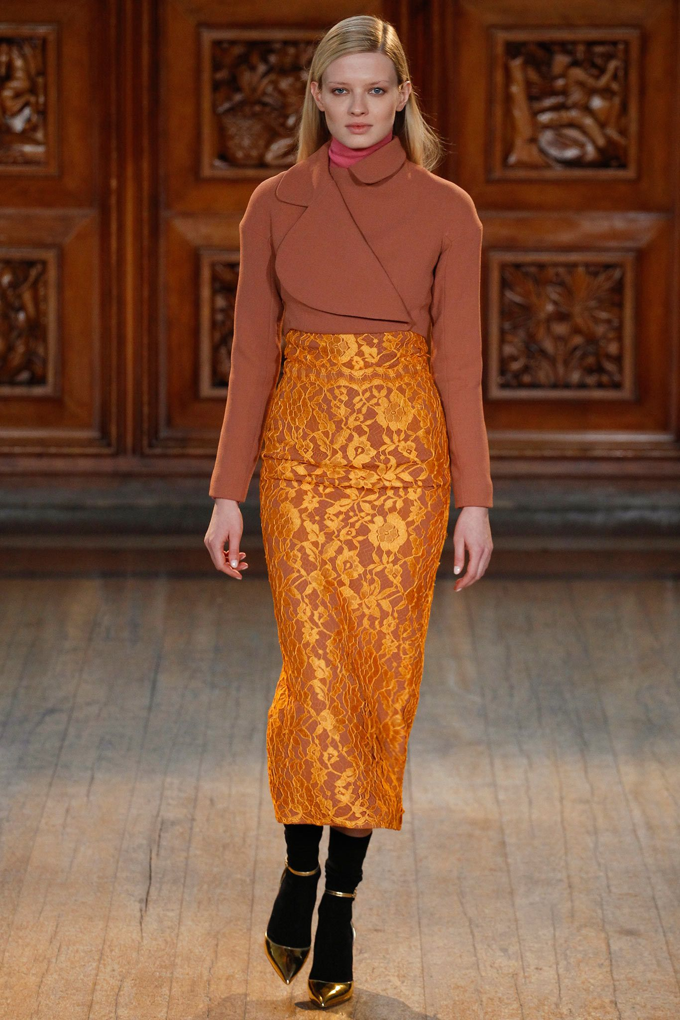 Emilia Wickstead Fall 2014 Ready-to-Wear Fashion Show