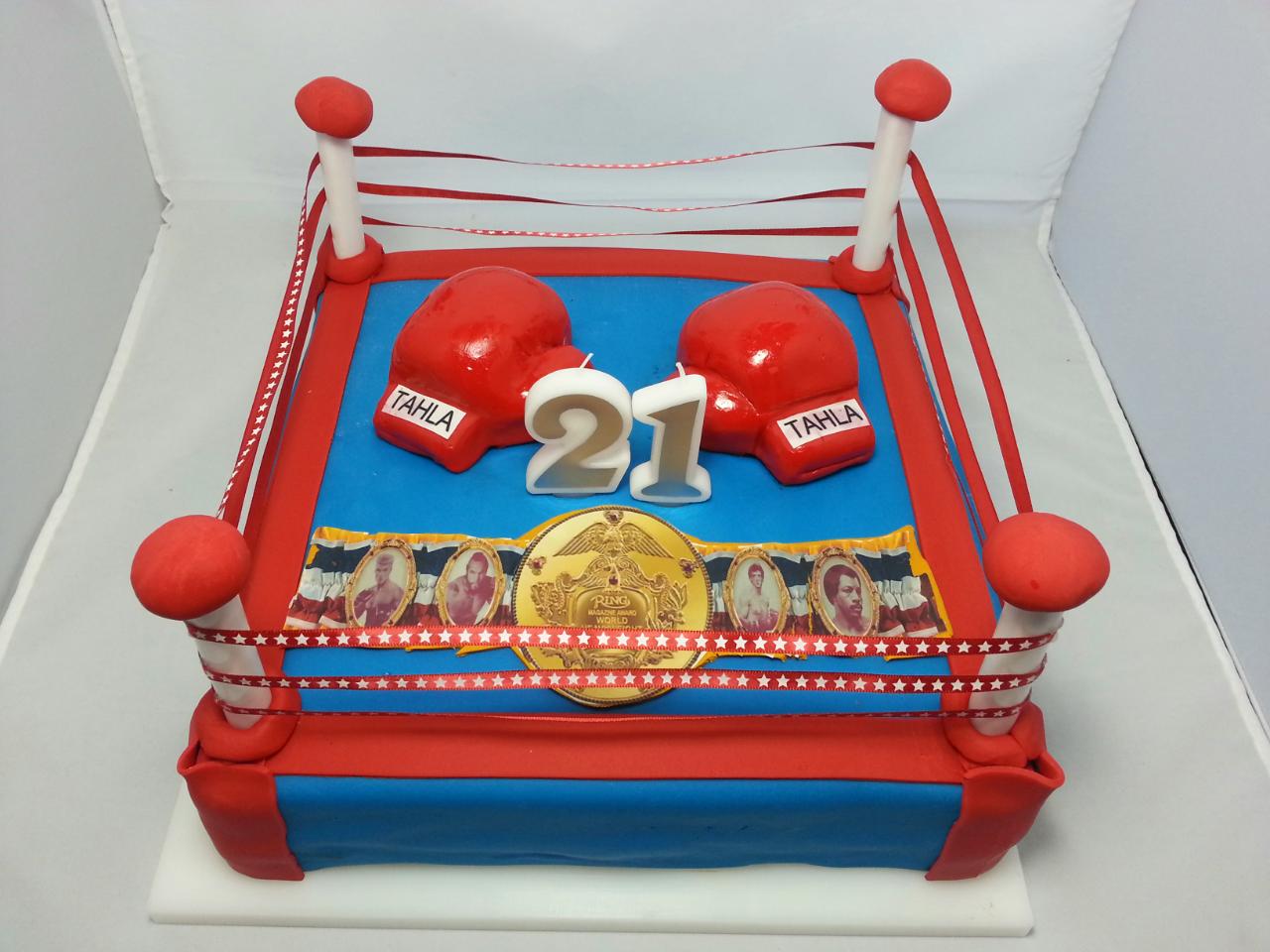 21st Birthday Rocky Balboa Boxing Ring Boy Birthday