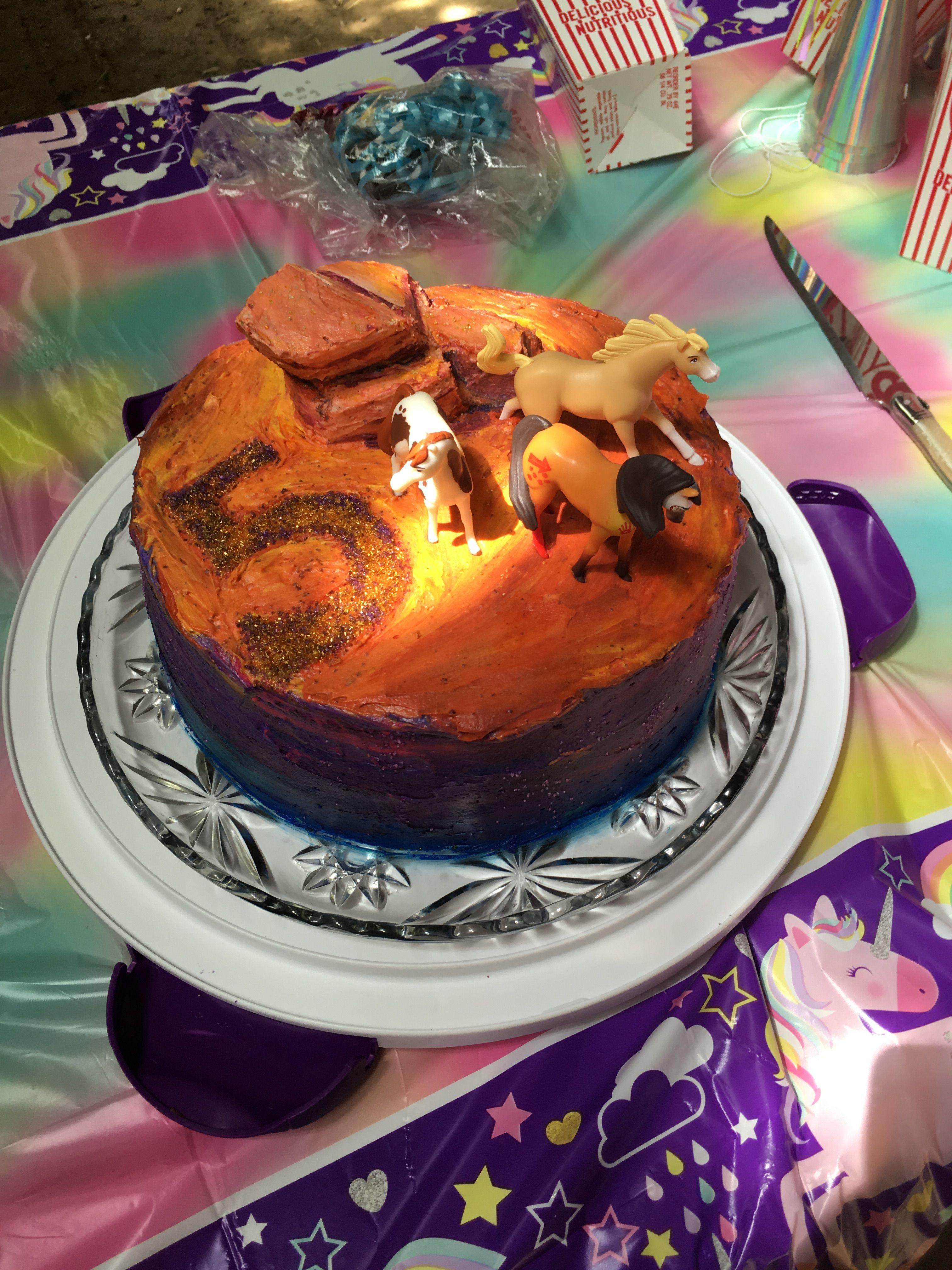 Spirit Riding Free Cake Free Birthday Stuff Birthday Party Cake Party Cakes