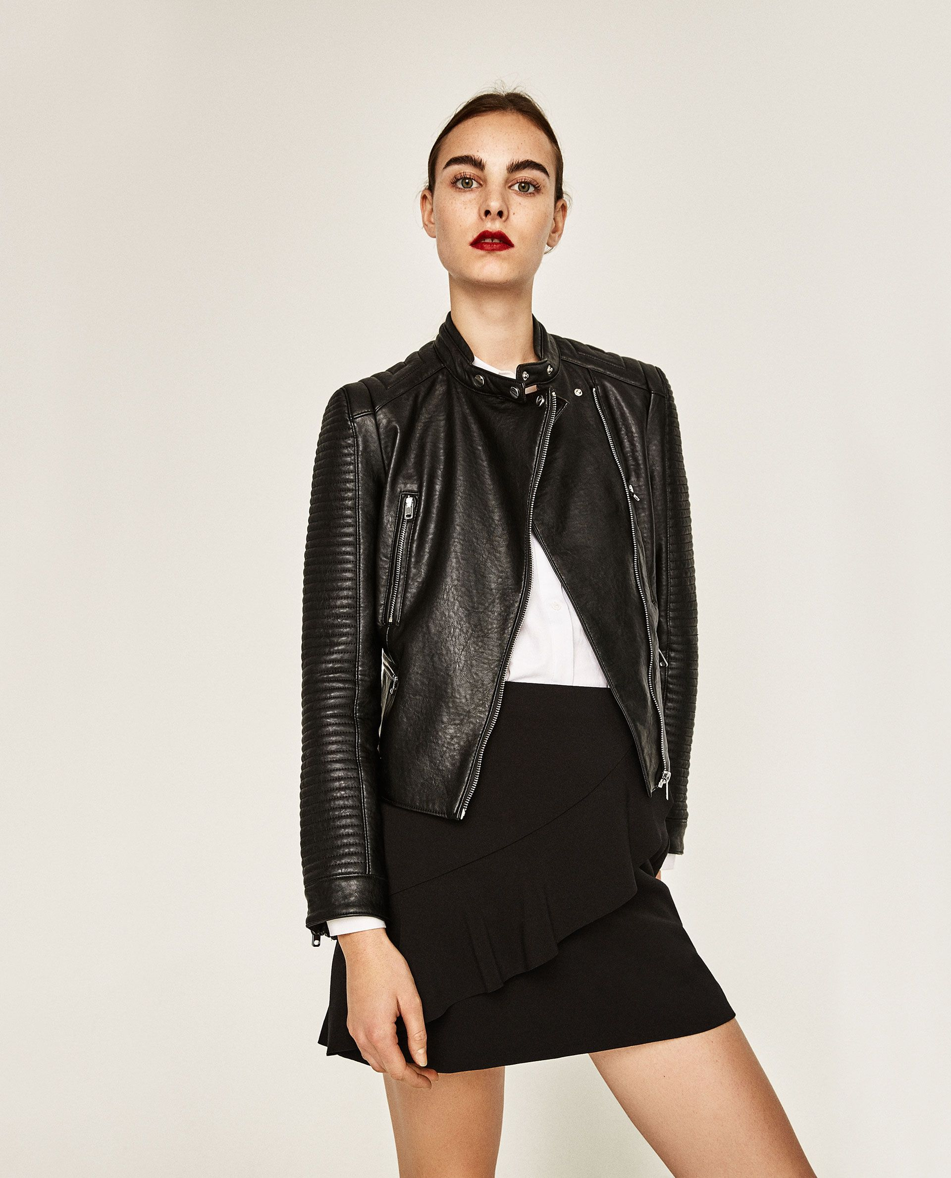 Leather Jacket from Zara Jackets, Jackets for women