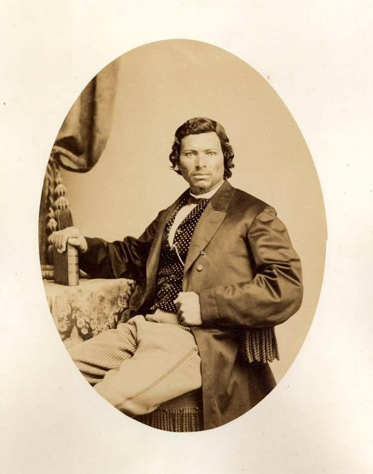 Creek Indian, Sanford Ward Perryman in 1869  Pinterest