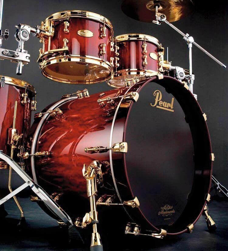 j 39 ai la batterie de pearl batterie pearl pinterest batterie percussions et musique. Black Bedroom Furniture Sets. Home Design Ideas