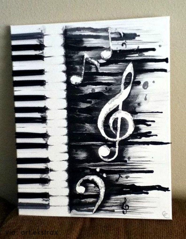 Piano art name plate crayon art art canvas art
