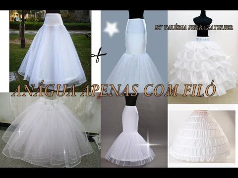 Como hacer un vestido de novia para nina
