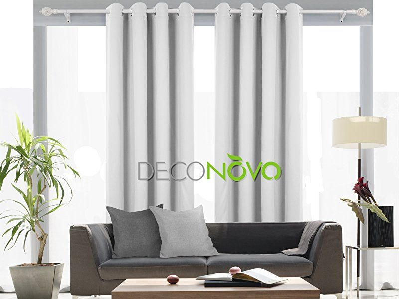 Amazon Deconovo Room Darkening Curtain Thermal Insulated Grommet Blackout Curtains For Living