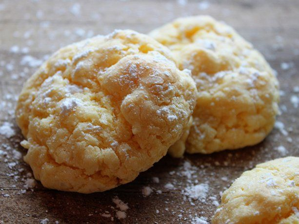Cake mix and butter recipe