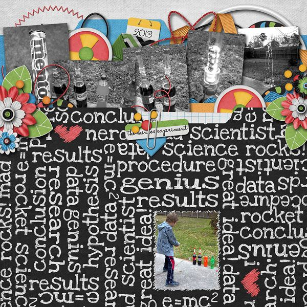 Science Project 2013 My Digital Scrapbooking Layouts Pinterest - graph papers