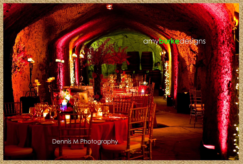 Floral Event Design Wine Cave Wedding Wine Cave Floral Event Design