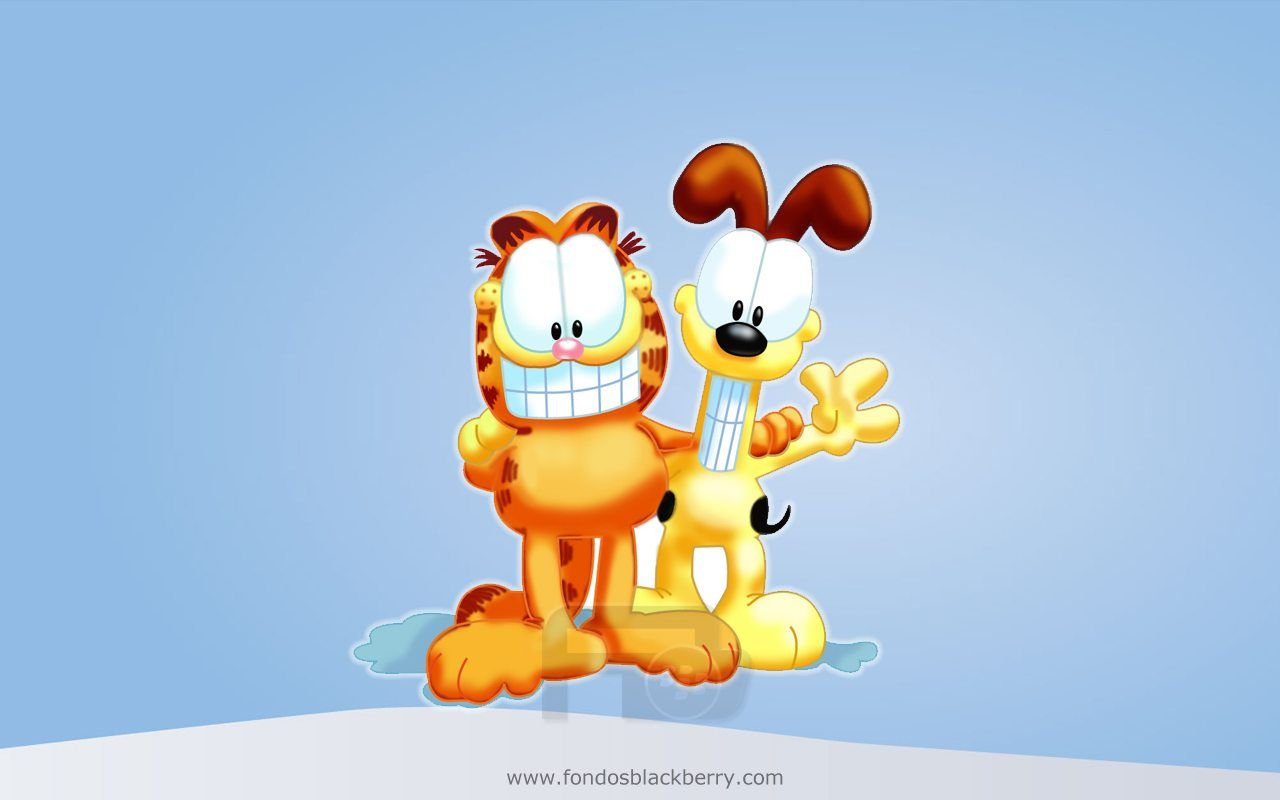 Garfield Odie 3d Kucing Kucing Gemuk Lucu