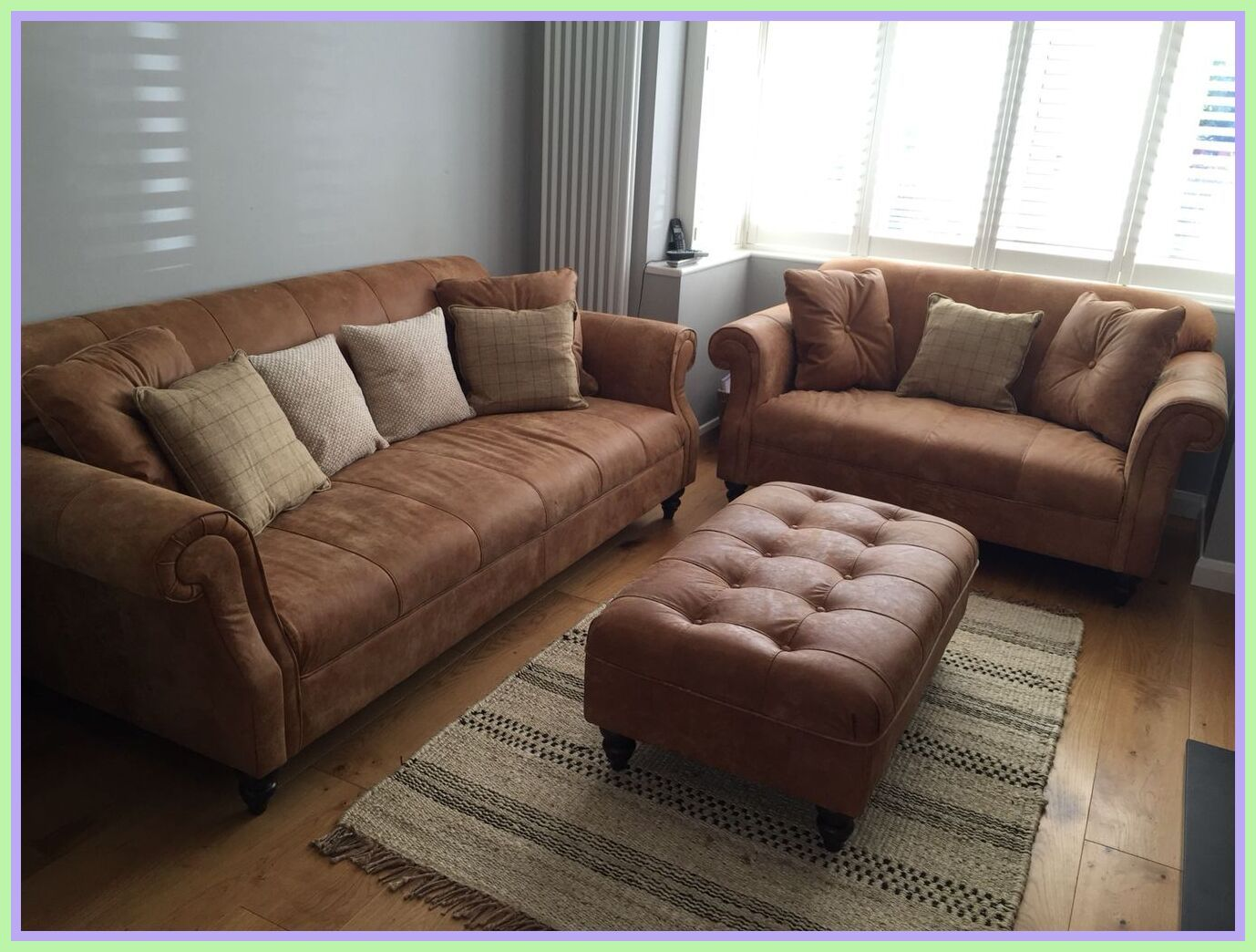 125 Reference Of Brown Sofa Grey Floor In 2020 Tan Leather S