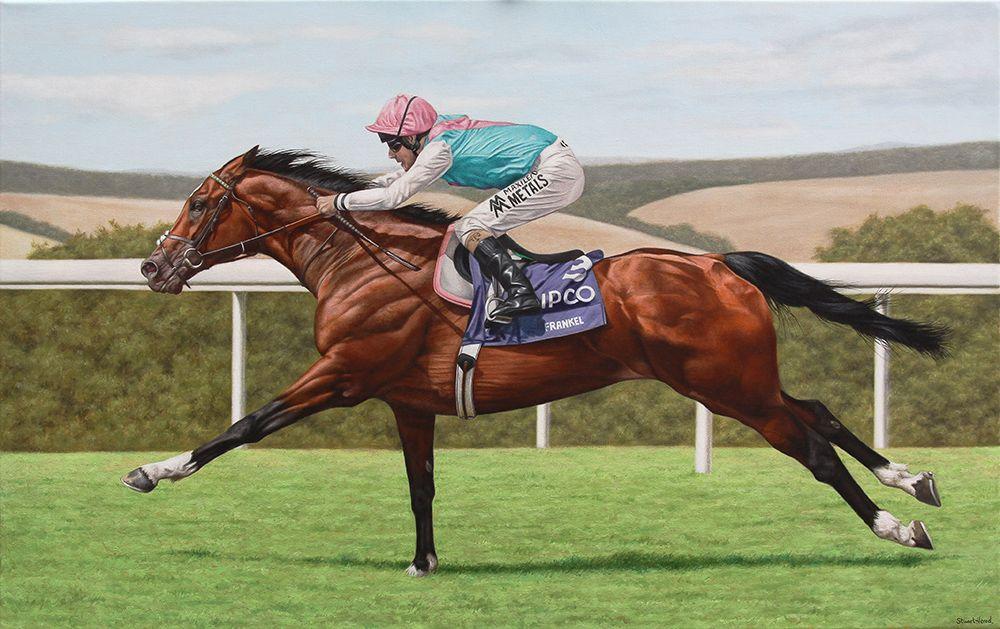 Quot Frankel Quot Quot Frankel Oil Painting Quot Quot Horse Racing Painting