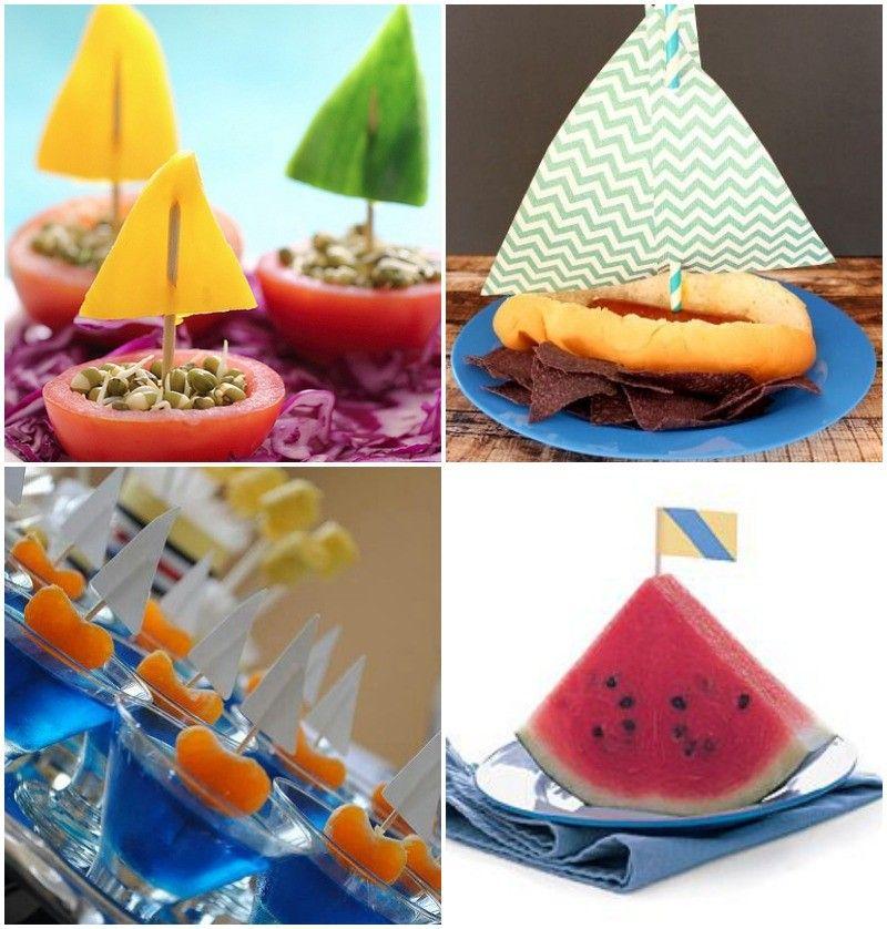 ideas para aperitivos fiesta de marinero