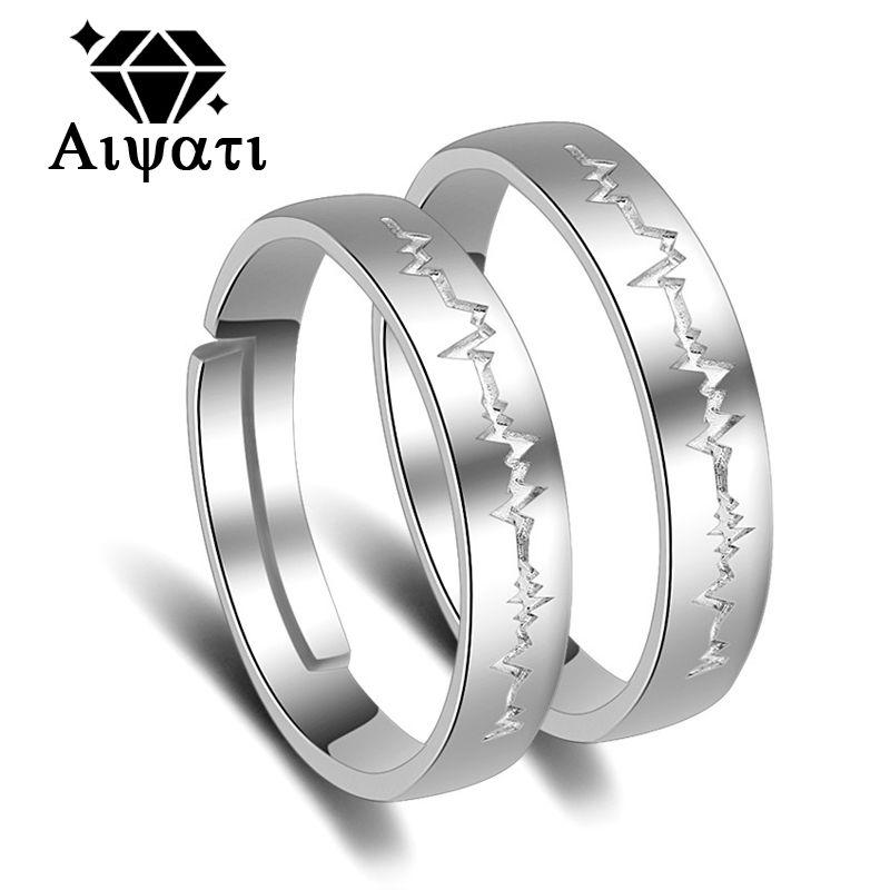 Fashion Jewelry Lighting Design 925 Silver Rings 2017 Wedding