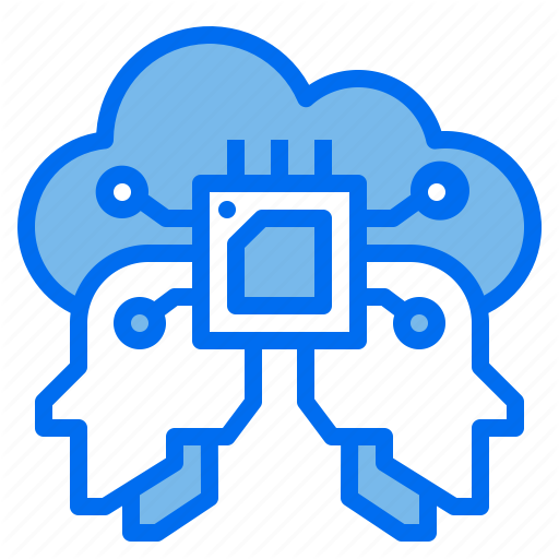 Artificial Brain Cloud Intelligence Robotics Technology Icon Download On Iconfinder Technology Icon Icon Clouds