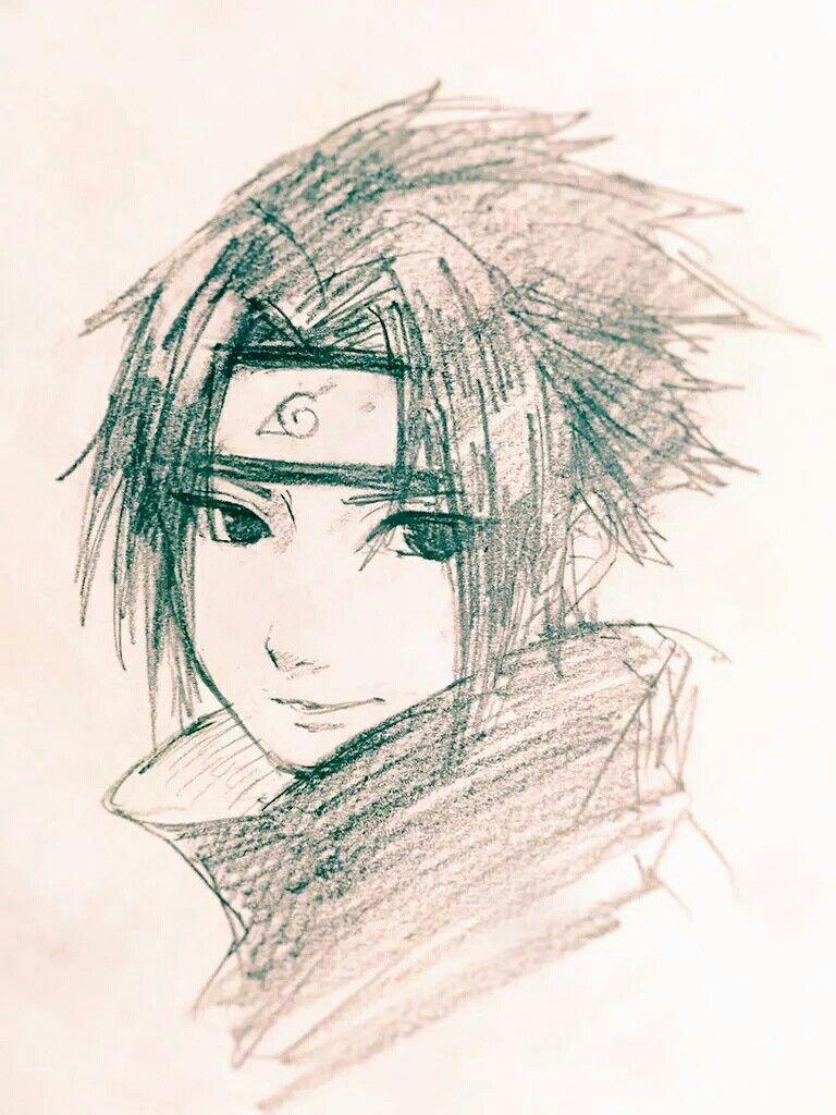 Pin By Edit Profile On Sasuke Naruto Sketch Naruto Drawings