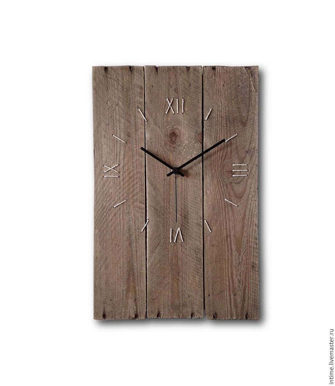 "Custom 12"" Hand-Assembled Vinyl Wall Clock"