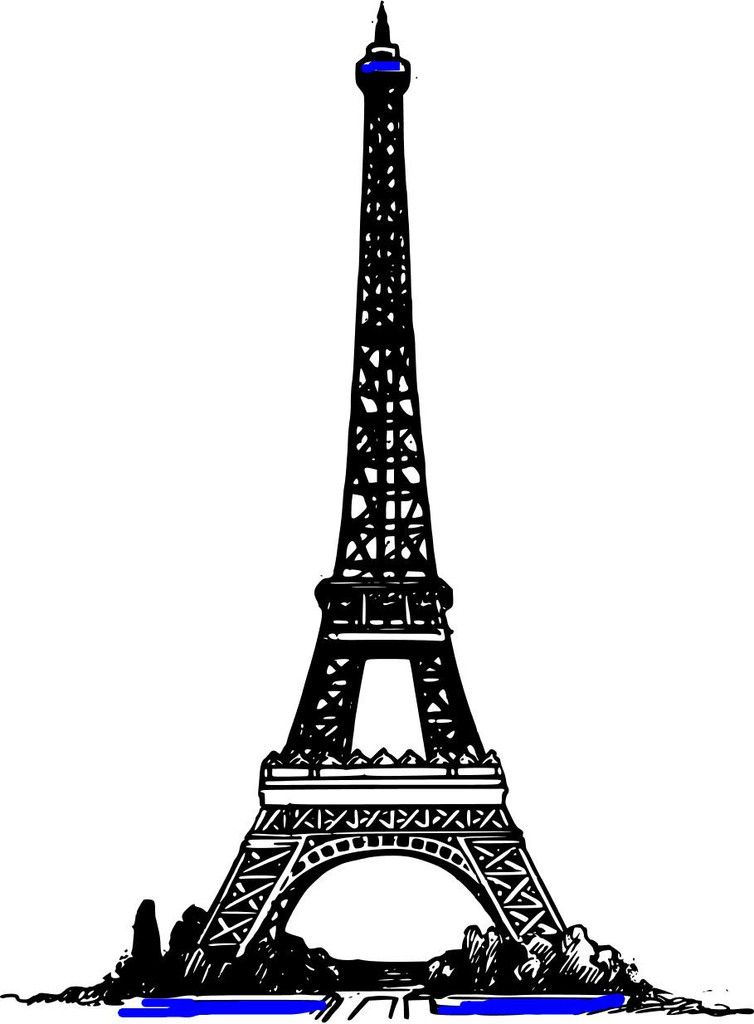 French Language Levels 1 2 3 4 Summer Course Eiffel Tower Clip Art Eiffel Tower Tower