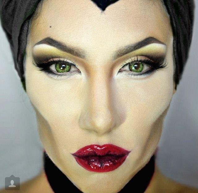Maleficent Makeup Makeup En 2019 Maquillaje De Malefica