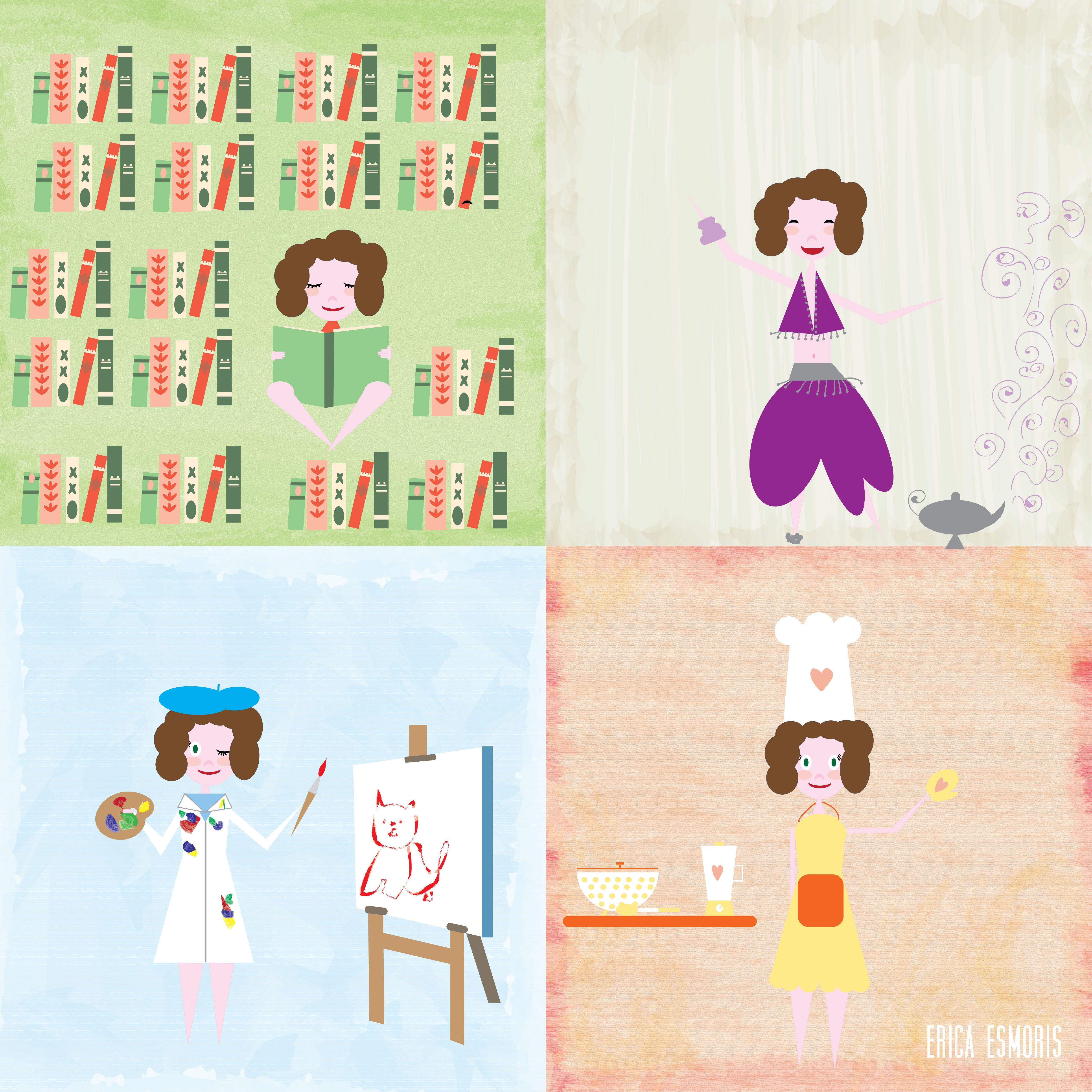 Mi Familia Sufre Mis Inicios Con El Ilustrator La Victima