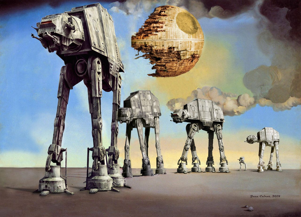 Salvador Dalí + Star Wars